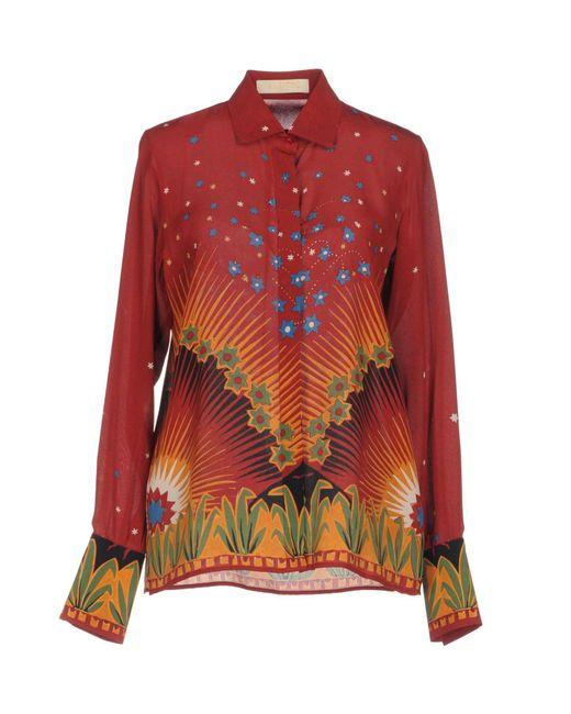 Valentino Red Shirt