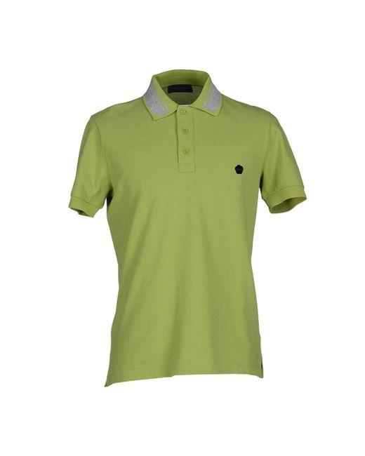Viktor & Rolf - Green Polo Shirt for Men - Lyst