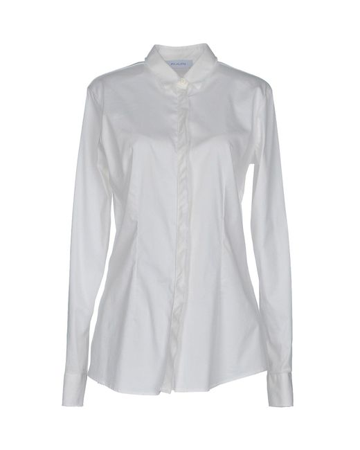 Aglini - White Shirt - Lyst