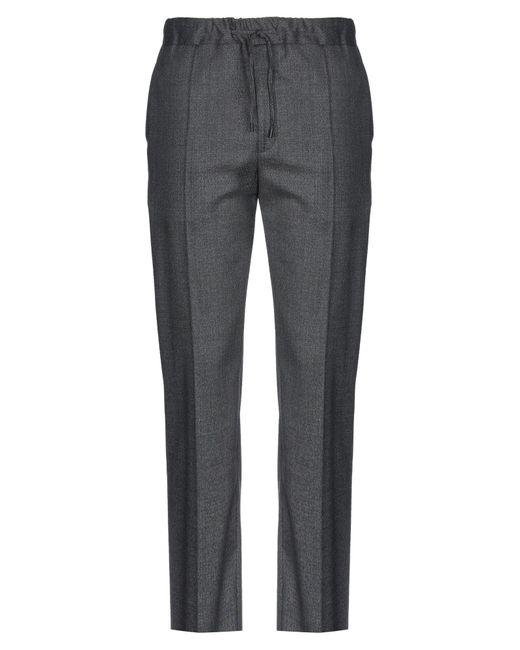 Fendi Gray Casual Pants for men