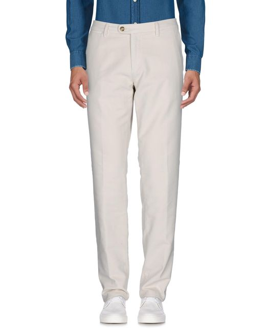 Corneliani - White Casual Trouser for Men - Lyst