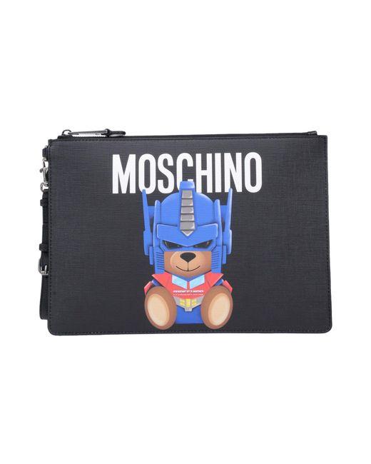 Moschino - Black Handbag - Lyst