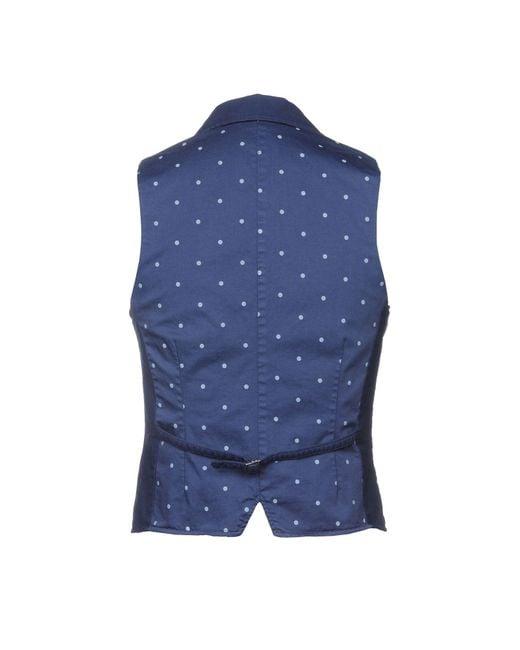 AT.P.CO Blue Vest for men
