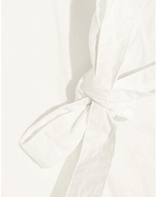 Robe courte MiH Jeans en coloris White