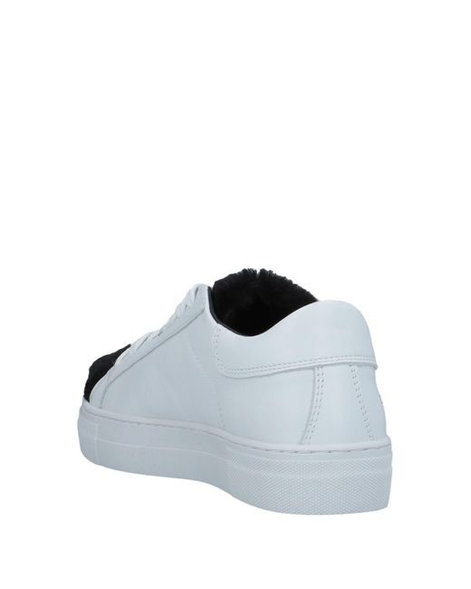 WOMSH White Low Sneakers & Tennisschuhe