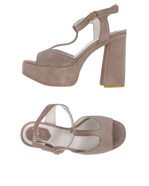 Ovye' By Cristina Lucchi - Natural Sandals - Lyst