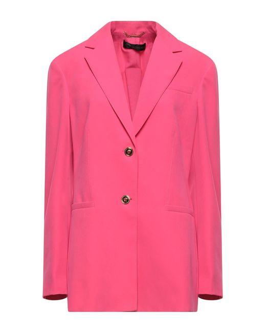 Versace Pink Suit Jacket
