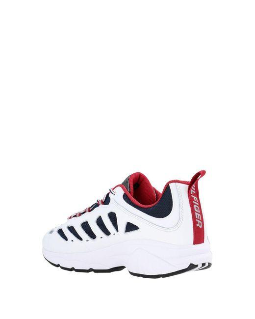 Tommy Hilfiger Low Sneakers & Tennisschuhe in White für Herren