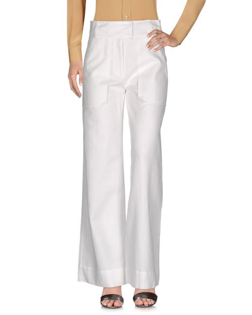 Peuterey - White Casual Pants - Lyst
