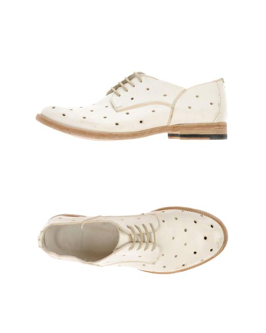 Keep | White Lace-up Shoe | Lyst