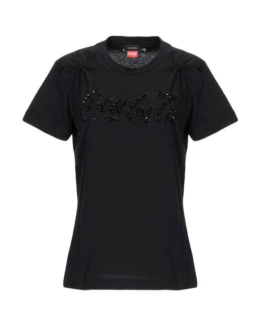 Pinko T-shirt da donna di colore nero