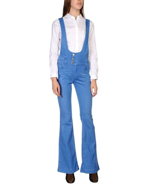 Space Style Concept | Blue Overalls | Lyst