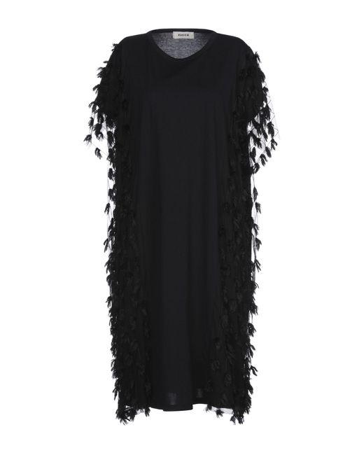 Vestito al ginocchio di Zucca in Black