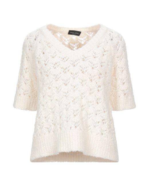 Pullover Roberto Collina de color White