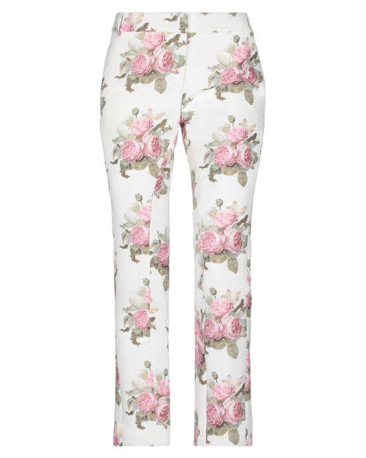 Paco Rabanne White Casual Trouser