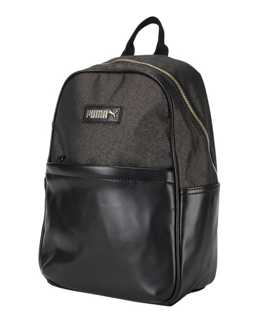 PUMA Black Backpacks & Fanny Packs