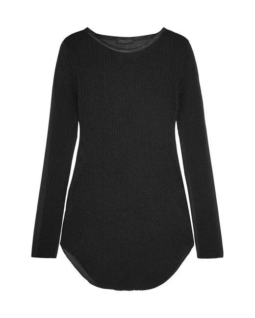 Rag & Bone Black Pullover