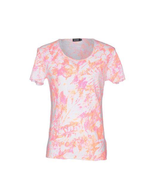 Antony Morato - Orange T-shirt for Men - Lyst