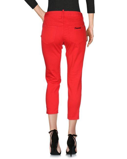 Pantalones vaqueros DSquared² de color Red