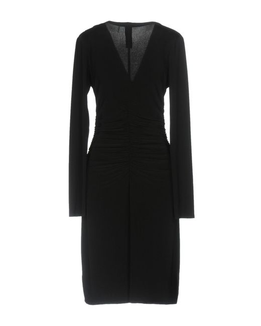 Norma Kamali Black Short Dress