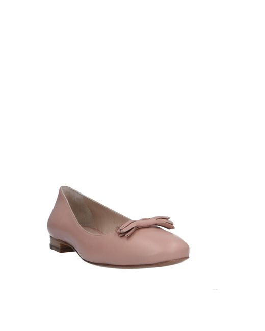 68a08c2e3 ... Fratelli Rossetti - Pink Ballet Flats - Lyst