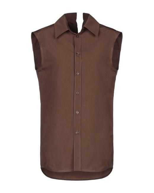 Marni Camisa de mujer de color marrón n078z