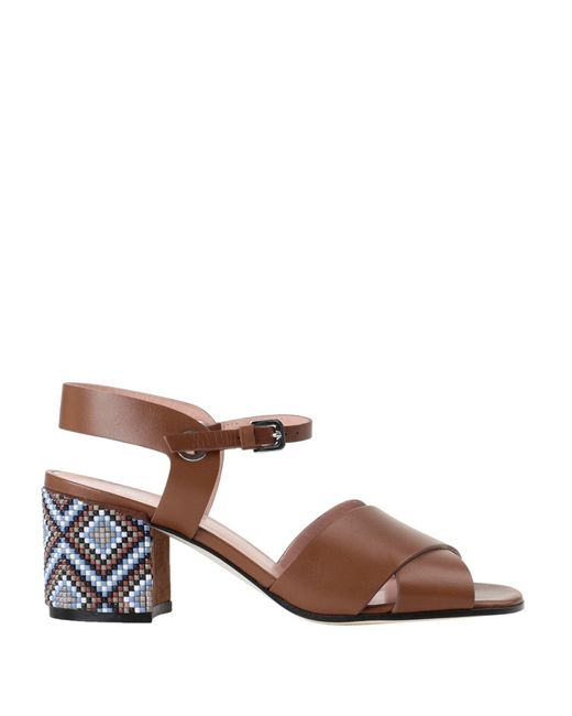 Pollini Brown Sandals