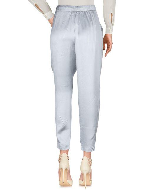 Fabiana Filippi Pantalon femme de coloris gris