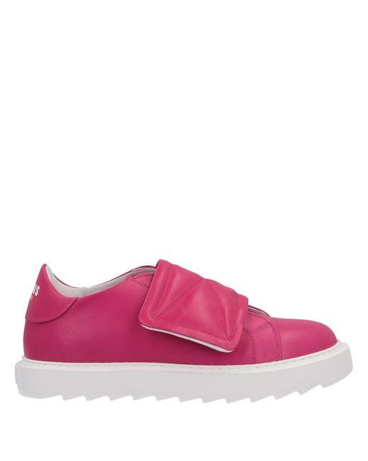 Versus  Pink Low-tops & Sneakers