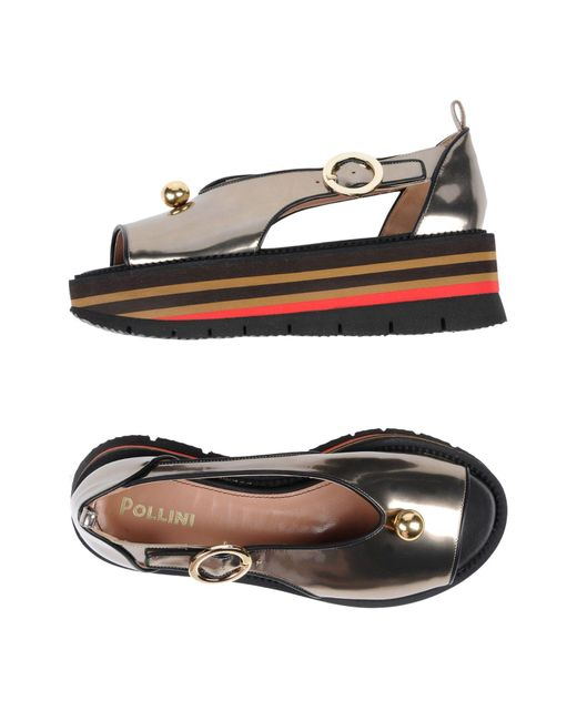 Pollini - Multicolor Sandals - Lyst