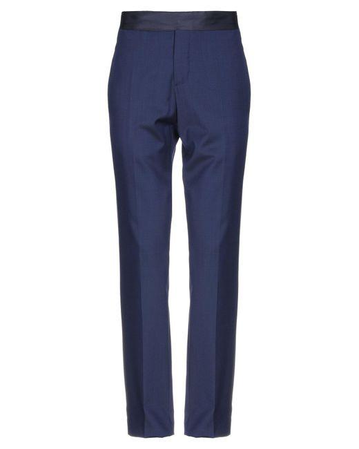Armani Blue Casual Pants for men