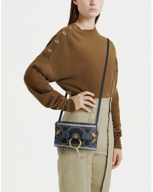 Chloé Blue Cross-body Bag