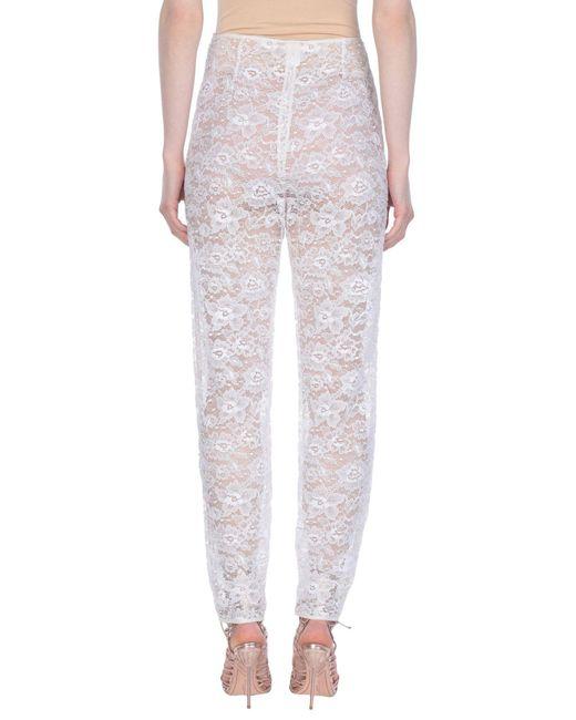 Pantalon Giamba en coloris White