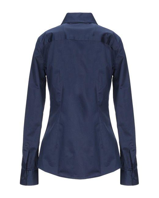 Camicia di Love Moschino in Blue