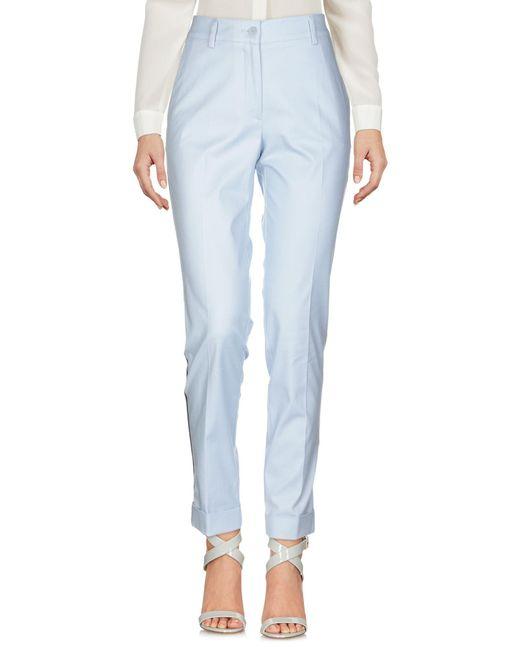 P.A.R.O.S.H. Pantalon femme de coloris bleu MgxUV