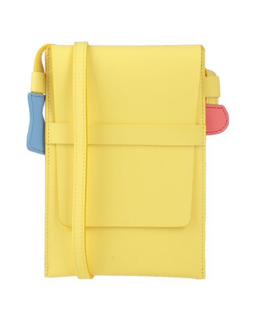 PB 0110 Yellow Cross-body Bag
