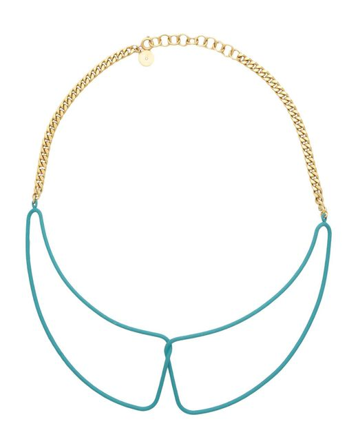 Marc By Marc Jacobs - Green Necklace - Lyst