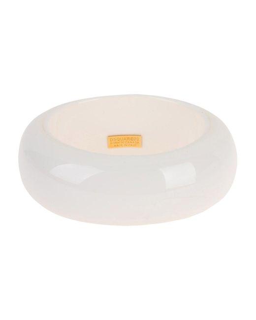 DSquared² - White Bracelets - Lyst