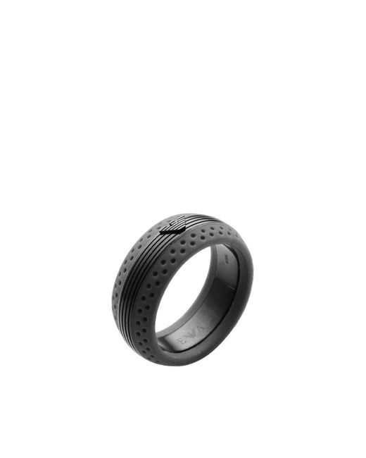 Emporio Armani   Gray Ring   Lyst