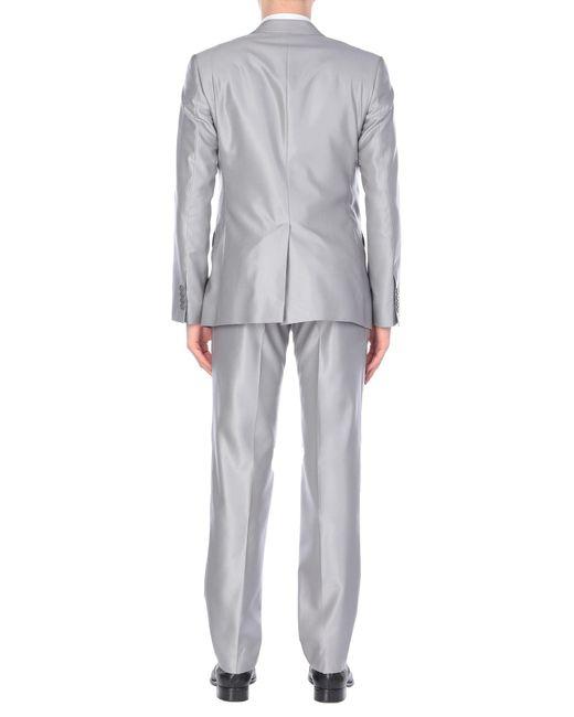 Costume Dolce & Gabbana pour homme en coloris Gray