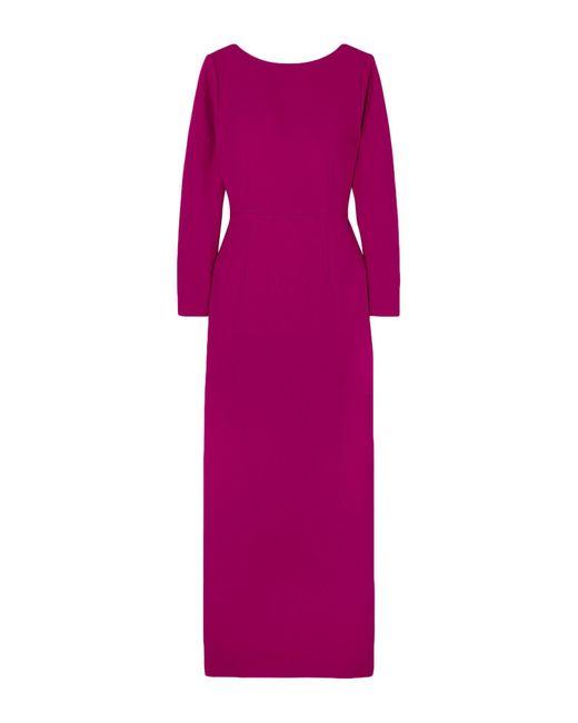 Vestito lungo di Rebecca de Ravenel in Purple