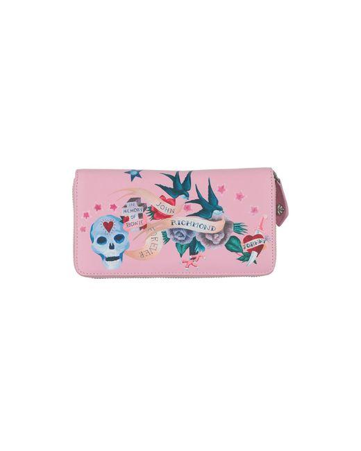 John Richmond Pink Wallet