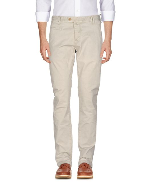AT.P.CO - White Casual Trouser for Men - Lyst
