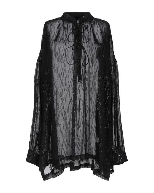 IRO Blusa de mujer de color negro MW3pz