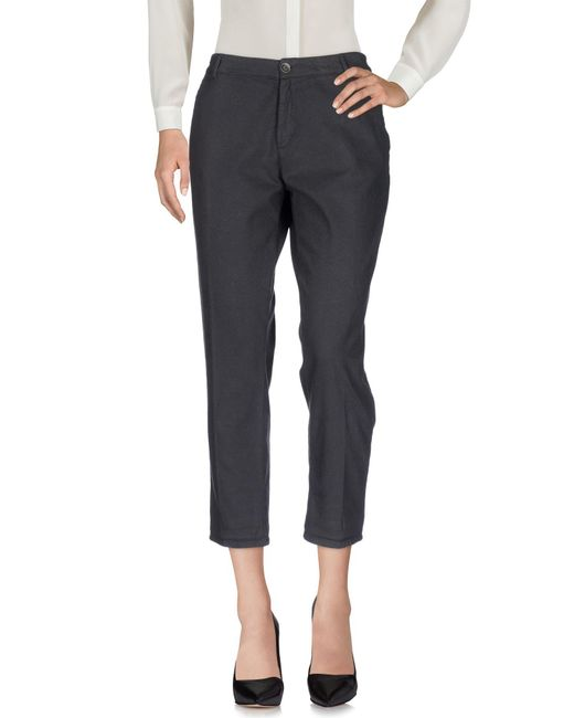 40weft - Gray Casual Pants - Lyst