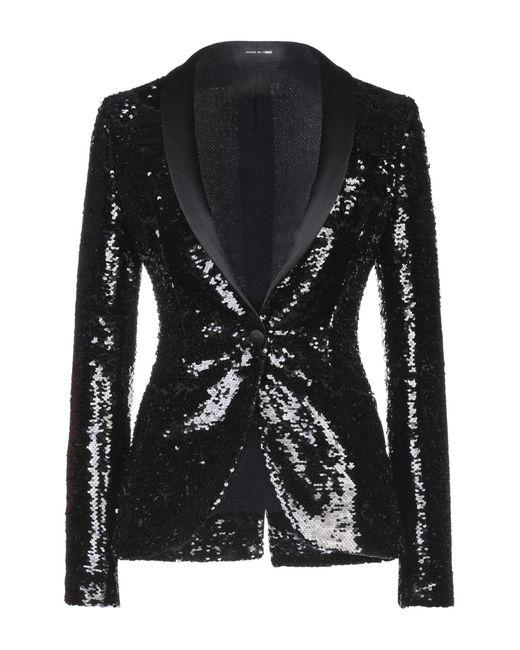 Tagliatore 0205 Black Suit Jacket