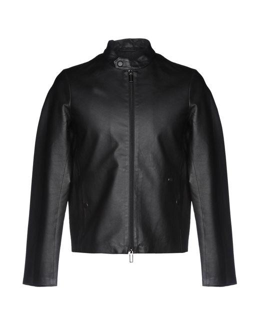 Blouson Emporio Armani pour homme en coloris Black