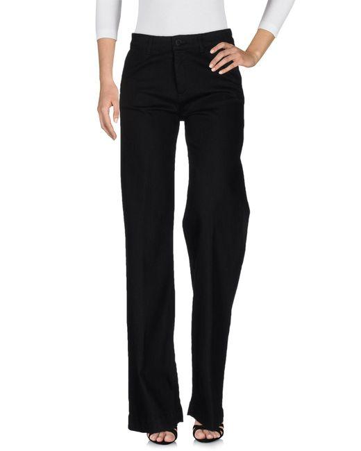 Space Style Concept - Black Denim Trousers - Lyst