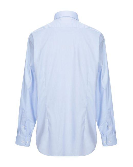 Chemise Michael Kors pour homme en coloris Blue