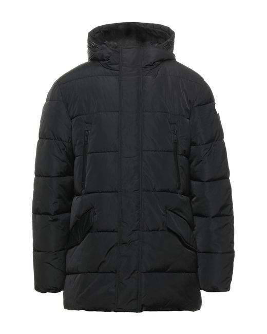 North Sails Black Synthetic Down Jacket for men